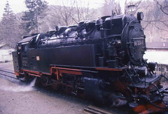 99 7234 (Ray's Photo Collection) Tags: germany steam locomotive 99 ng 7234 narrowgauge deutschland eastern dr 1992