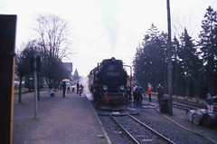 99 7232 (Ray's Photo Collection) Tags: germany steam locomotive 99 ng narrowgauge 7232 deutschland eastern dr 1992