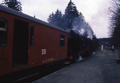 DR Narrow Gauge Steam Locomotive (Ray's Photo Collection) Tags: germany steam locomotive dr 1992 ng narrowgauge deutschland eastern