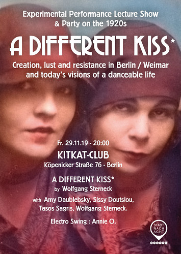 A DIFFERENT KISS* - Lust, creation and resistance in the 20s