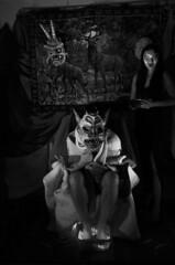 La Grippe du Vampire (P.Jann!n) Tags: patrickjannin photographie vampire masque monstre mask féebrile grippe hiver comédie