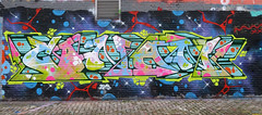 Graffiti in Amsterdam (wojofoto) Tags: amsterdam nederland netherland holland ndsm noord graffiti streetart wojofoto wolfgangjosten 2020 conan