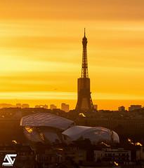 Fondation Louis Vuitton / sunrise (A.G. Photographe) Tags: ag agphotographe paris parisien parisian france french français europe capitale d850 nikon sigma 150600 toureiffel eiffeltower louisvuitton fondationlouisvuitton sunrise