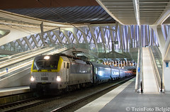 NMBS 1881 Liège-Guillemins (TreinFoto België) Tags: nmbs sncb öbb nightjet nachttrein nachtzug luik liège train trein zug belgium belgien belgique belgië siemens wenen oostenrijk lüttich
