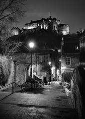 The Vennel (images@twiston) Tags: vennel thevennel edinburgh castle street streetphotography urban city cityscape scotland dusk night unesco worldheritagesite oldtown landscape imagestwiston atmospheric bw mono blackandwhite monochrome nisi nisifilters gnd neutraldensity grad