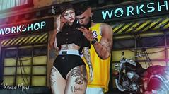 → ● 1559 ● ← (♕ Xaveco Mania - Jhess Yoshida ♕) Tags: merch ksposes motodesign accessevent secondlifephotography secondlifeblog secondlife love couple event slfashion moda blogger