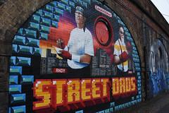 street dads (werewegian) Tags: arches artwork yorkhill mural street art glasgow werewegian jan20