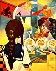 Spaced Out Fantasy (2013) - Lio Hak Man (pedrosimoes7) Tags: liohakman fantasia colors colorful colorsinourworld colorsmix colo fundaçãooriente alcantara lisbon portugal ✩ecoledesbeauxarts✩ artgalleryandmuseums arttate macauartistsociety comics