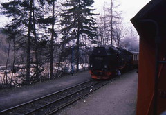 99 7234 (Ray's Photo Collection) Tags: germany steam locomotive 99 1992 ng 7234 narrowgauge deutschland eastern dr