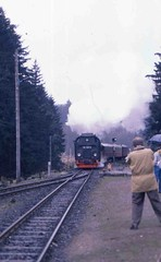 99 7245 (Ray's Photo Collection) Tags: germany steam locomotive 99 ng narrowgauge 7245 deutschland eastern dr 1992