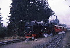 99 7245 (Ray's Photo Collection) Tags: germany steam locomotive 99 1992 ng narrowgauge 7245 deutschland eastern dr
