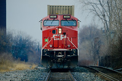 January 14, 2020 (bigdaddyhame) Tags: cpr canadian pacific railway toronto bartlett blood brothers trains