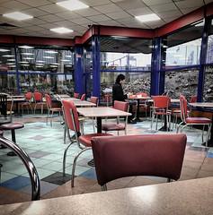 Burger King despair - Park Royal (Flamenco Sun) Tags: january misery empty despair london burger depression