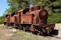 Am Bahnhof  Railway Station (fritzenalg) Tags: lokomotive bahnhof italien italy rost rust dampflok train steamtrain