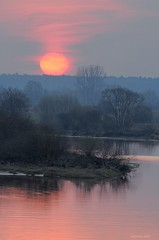 Sunrise (Grefer) Tags: sunrise poland bug bugvalley rzekabug polska mazovia sun nikond300s nikkor300mmf4afs