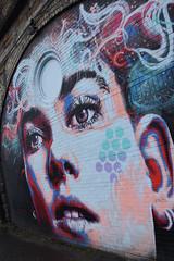 girl (werewegian) Tags: arches artwork yorkhill mural street art glasgow werewegian jan20