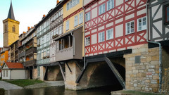 Krämer Bridge # 2 (JuliSonne) Tags: architecture architektur krämerbrücke krämerbridge bridge rivergera building monument old erfurt germany thüringen