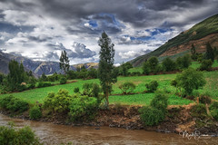 The green valley (marko.erman) Tags: cuzco perurail peru latinamerica southamerica travail train landscape valley green cloudysky river trees mountains scenic romantic nature outside outdoor sony