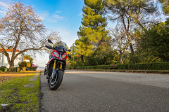 Riding my BMW S1000XR in Central Greece (Konstantinos Farsalinos) Tags: cyan bmw s1000xr motorrad motorcycles motorbikes bmws1000xr bmwmotorrad nature traveling riding