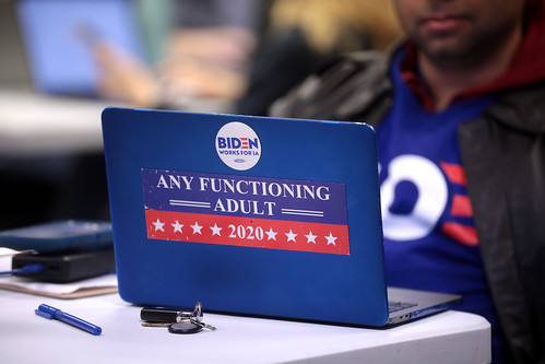 Joe Biden supporter by Gage Skidmore, on Flickr