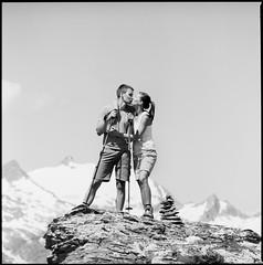 Austrians_Hasselblad 500C/M (ksadjina) Tags: 6x6 adoxaph09 austria carinthia carlzeisstessar350mmf156 hasselblad500cm kodak100tmax mohar nationalparkhohetauern nikonsupercoolscan9000ed silverfast analog blackwhite film scan