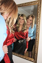 Anna and Sue enjoying what they see (suedel36) Tags: cd crossdressers tgirl tgurl transvestite stokings nylon