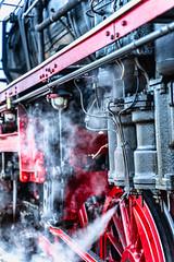 Steamy Area (*Capture the Moment*) Tags: 2019 dampflok december dezember fotowalk munich münchen nikolauszug sonya7m2 sonya7mii sonya7mark2 sonya7ii sonyilce7m2 steamengine steamtrain train
