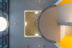 Staircase 2 (genf) Tags: eindhoven noordbrabant nederland netherlands strijps industry industrie philips gerard gebouw staircase stairwell trappenhuis bottomup omhoog sony a99ii tamron 1530 indoor binnen
