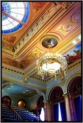 Des Moines ~ Iowa ~ Senate Chambers ~ State Capitol Building (Onasill ~ Bill Badzo - New Format) Tags: des moines iowa state capitol building senate chambers gallery historic nrhp landmark hdr onasill