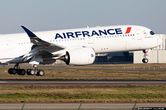 Air France Airbus A350-941 cn 381 F-WZNJ // F-HTYD (Clément Alloing - CAphotography) Tags: air france airbus a350941 cn 381 fwznj fhtyd toulouse airport aeroport airplane aircraft flight test canon 100400 spotting tls lfbo aeropuerto blagnac airways aeroplane engine sky ground take off landing 5d mark iv avgeek avgeeks planespotter spotter news aviation daily insta avnerd planeporn megaplane avitionnews dailynews