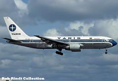 Varig Brasil B767-241/ER PP-VNR (planepixbyrob) Tags: varig varigbrasil brazil brasil boeing 767 767200 ppvnr mia miami retro kodachrome