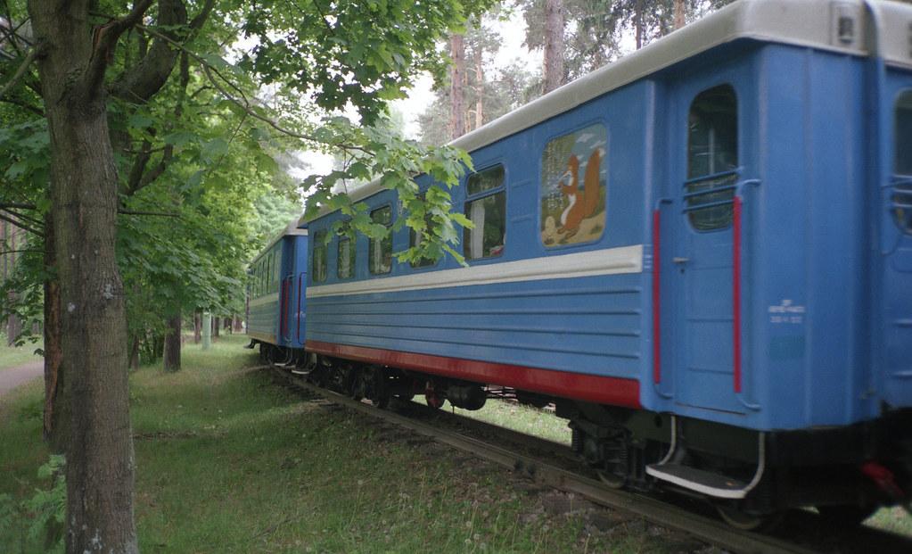 фото: Малая Московская железная дорога, станция Пионерская 2002