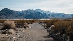 Racetrack Ahead (San Francisco Gal) Tags: racetrack grandstand playa mountain desert draw deathvalley nationalpark january 2020