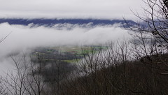 On such a winter's day (poeticverse) Tags: mountain clouds view winter signalmountain tennessee