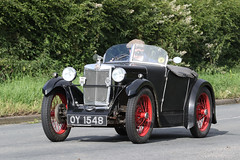 MG Midget Sports (1932) (Roger Wasley) Tags: oy1548 1932 mg midget classic car vehicle sports