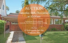 11 Roxborough Park Road, Baulkham Hills NSW