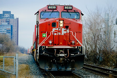 January 2020 (bigdaddyhame) Tags: cpr canadian pacific railway toronto bartlett blood brothers train