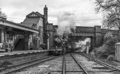 62005 on Minerals (Kingmoor Klickr) Tags: gordonedgar gcr greatcentralrailway loughborough 62005 k1 peppercorn quornwoodhouse railwaystation