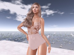 Romantic Look (Joy.Felicity.Styling.Arts) Tags: anybody event slevent exclusive sl secondlife second life secondlifeevent equal10 doux hair kathleen thidelly wellmade well made sarita bodysuit new release