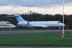 OK1 (IndiaEcho) Tags: london airport aircraft aviation jet aeroplane civil biz airfield bromley egkb bqh england canon eos kent business 1000d force air government express botswana global bombardier ok1 of