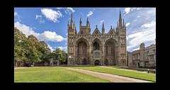Peterborough Cathedral (mini-b) Tags: peterborough peterboroughcathedral lookingup 2018 luminar2018 aurorahdr2018 skylum canon eos5dmkiv ef24105mm14lisusm ef1635mm128liiusm