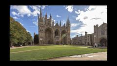 Peterborough Cathedral 01 (mini-b) Tags: peterborough peterboroughcathedral lookingup 2018 luminar2018 aurorahdr2018 skylum canon eos5dmkiv ef24105mm14lisusm ef1635mm128liiusm