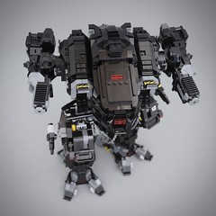 New sisterhood mech WIP (Goth Bricks 2000) Tags: afol legoscifi scifi battletech mecha legomecha mech legomech legomoc lego