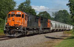 No Regrets (Joseph Bishop) Tags: wnyp westernnewyorkpennsylvania 685 mlw m636 portallegheny pennsylvania alco trains train track tracks railfan railroad railway rail rails