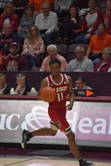 MARKELL JOHNSON (SneakinDeacon) Tags: hokies vt vatech virginiatech ncsu ncstate wolfpack cassellcoliseum accbasketball
