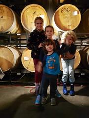 Cousins At Finback (Joe Shlabotnik) Tags: finback brewery everett october2019 queens galaxys9 cameraphone teddym violet isabellem 2019 glendale barrels