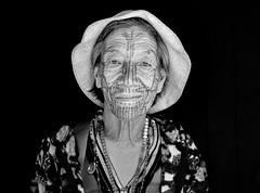 Chin woman (ONINOT) Tags: chin woman myanmar tatuaggio volto face tattoo