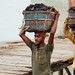 Coal-Carrying Stevedores, Dhaka Bangladesh