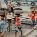 Stevedores Unloading Coal Ship, Karnaphuli, Chittagong Bangladesh