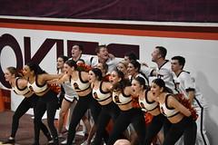 HOKIE HIGH TECHS (SneakinDeacon) Tags: cheerleaders high techs dancers virginiatech hokie vatech cassellcoliseum accbasketball basketball